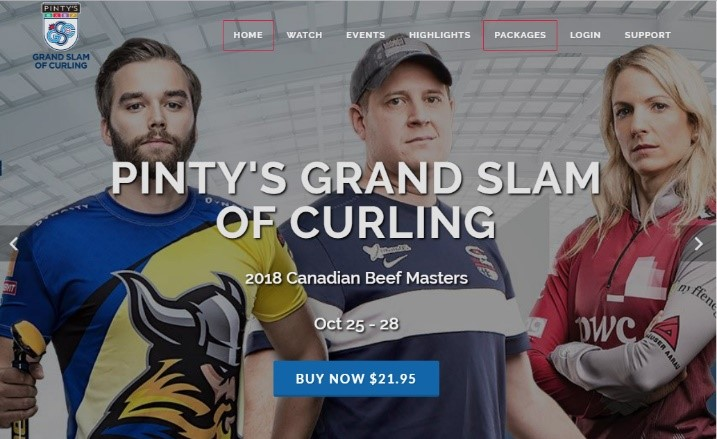Pinty's Grand Slam of Curling International Audience Subscriptions Grow 69%